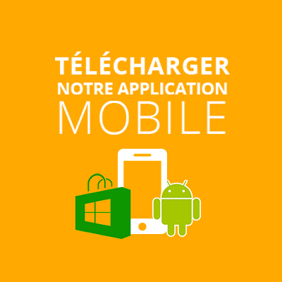 Télécharge l'application mobile